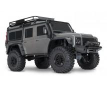 Traxxas TRX-4 Land Rover Defender Crawler Zilver