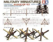 Tamiya 1:35 Barricade Set (Panzer Brigade)