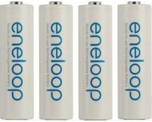 Panasonic Eneloop AA 2000mAh Oplaadbare Penlight Batterijen 4 stuks