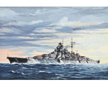 Revell Battleship Bismarck 1:700