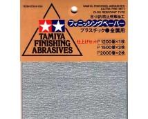 Tamiya Ultra Fijn Schuurpapier 1200/1500/2000