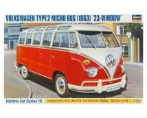 Hasegawa 1:24 1963 VW type 2 Micro bus 23 window