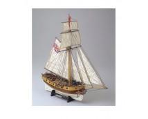 Mamoli 1:72 Hunter British Armed Cutter 1797
