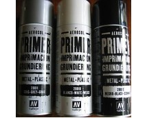 Vallejo Grey Primer 400 ml Spray Can