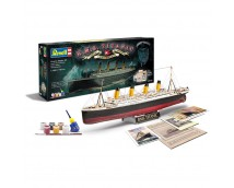 Revell 100 Jaar Titanic Set 1:400 incl. lijm en verf     05715