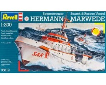 Revell 1:200 Herman Marwede  Search and Rescue Vessel