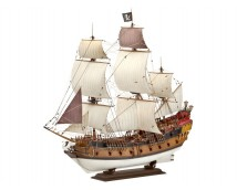 Zvezda 1:72 Pirate Ship Black Swan          9031
