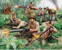 Revell Anzacs Infantry WWII 1:76
