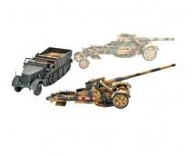 Revell 21cm Morser 18/17 cm Kanone and Sdkfz 9 FAMO 1:72