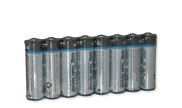 Alkaline 1,5v Batterijen AA 8 stuks