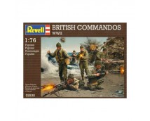 Revell British Commandos WWII