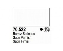 Vallejo Satin Varnish - 100% Acrylic Resin