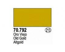 Vallejo Liquid Gold - 792 Old Gold