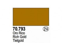 Vallejo Liquid Gold - 793 Rich  Gold