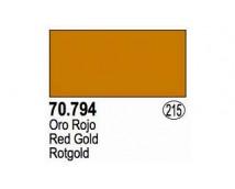 Vallejo Liquid Gold - 794 Red Gold