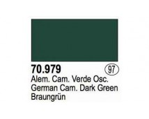 Vallejo Model Color Panzer Series - German Cam. Dark Green