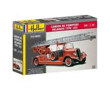 Heller 1:24 Delahaye Type 103 Camion de Pompiers