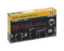 Italeri Trailer Rubber Banden 1:24 (8stuks)