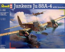 Revell 1:32 Junkers Ju88 A04 with bombs