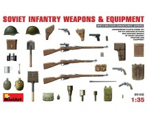 MiniArt 1:35 Soviet Infanterie weapons