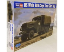 Hobby Boss 1:35 US White 666 Cargo Truck Hard Top
