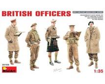 MiniArt 1:35 British officers