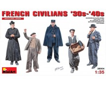 MiniArt 1:35 Franse Civillians 30-40th