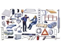 Italeri 1:24  truck shop accessoires      0764
