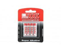 XXL Energy Alkaline AAA 1,5V 4 stuks