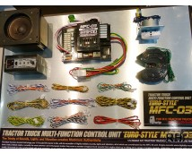 Tamiya 1:14 Tractor Truck Multifunction Control Unit EURO Style MFC-03