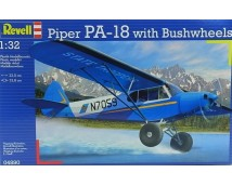 Revell 1:32 Piper PA-18 With Bush Wheels
