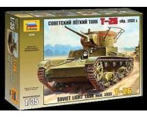 Zvezda 1:35 T-26 Soviet Light Tank 1933