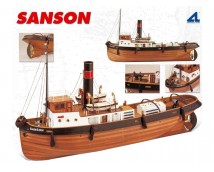 Artesania Latina Sanson 1:50 Tug Boat