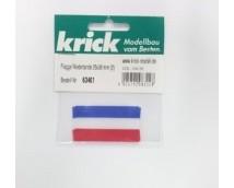 Krick NL Vlag 25x38 mm (2st)