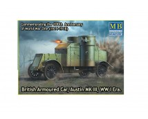 Master Box 1:72 British Armoured Car Austin MK3 WW1 era