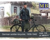 Master Box 1:35 German Soldier Bicyclist 1939-1942
