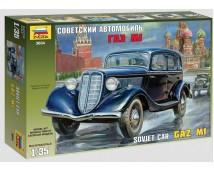 Zvezda 1:35 Soviet Car GAZ M1