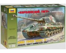 Zvezda 1:35 German Heavy Tank King Tiger Ausf. B Henschel Turret
