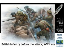 Master Box 1:35 British Infantry Before The Attack (WW1)