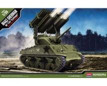 Academy 1:35 M4A3 Sherman w. T34 Calliope        13294