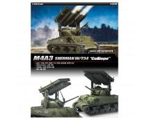 "Academy 1:35 M4A3 Sherman w. T34 ""Calliope"""