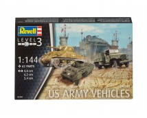 Revell 1:144 US Army Vehicles WWII