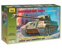 Zvezda 1:35 King Tiger Pz. Kpfw. VI Porsche Turret Ausf. B