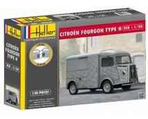 Heller 1:24 Citroen HY Fourgon type H