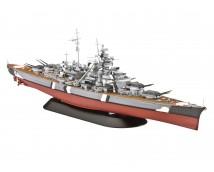 Revell 1:1200 Bismarck MODEL SET