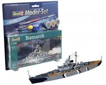 Revell 1:1200 Bismarck MODEL SET    65802