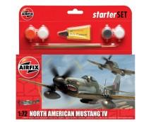 Airfix 1:72 North American Mustang IV STARTER SET