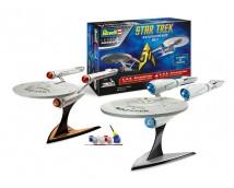 Revell Star Trek Geschenkset USS Enterprise Original + Into Darkness Series