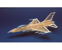 Guillows F-16A Fighting Falcon 1:30 Lengte 46cm