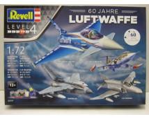 Revell 60 Jaar Luftwaffe Cadeauset 1:72